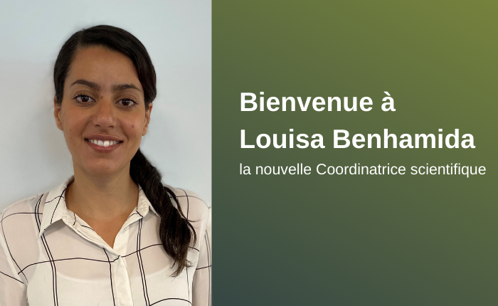 Louisa Benhamida, nouvelle coordinatrice scientifique